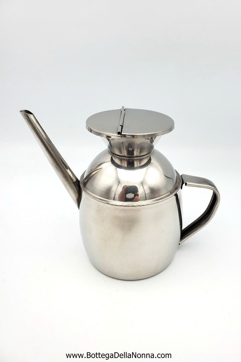 Oliera - Stainless Steel Oil Can
