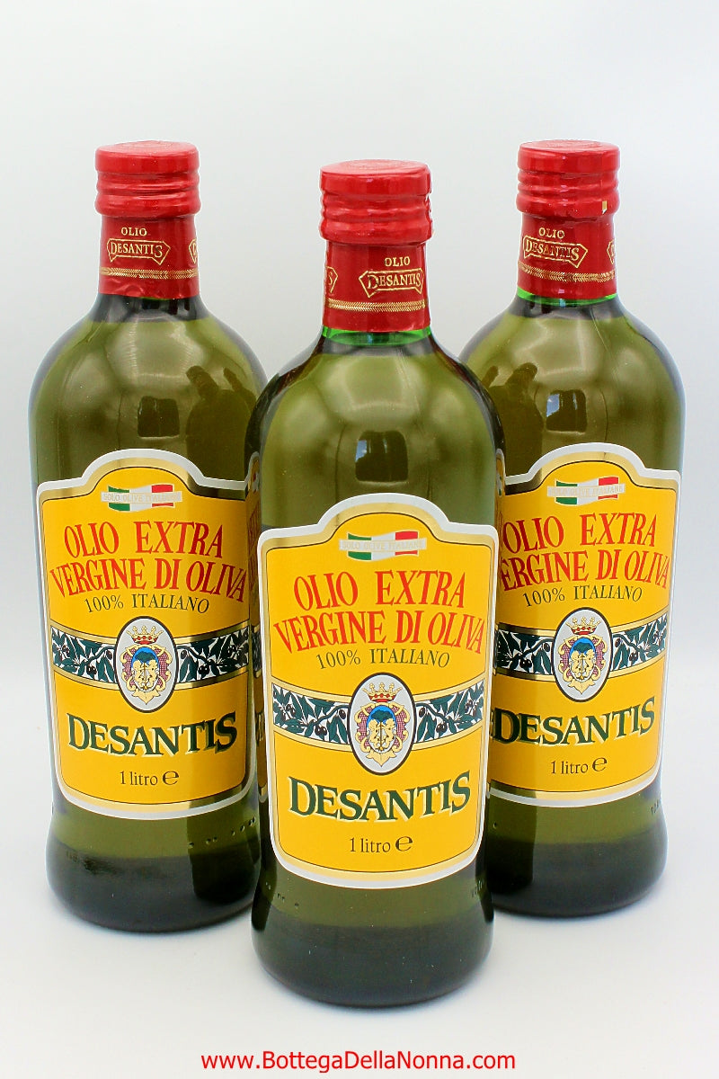 Extra Virgin Olive Oil from Puglia - 100% Italian Olives - Filtered - Famiglia Pack - Free Shipping