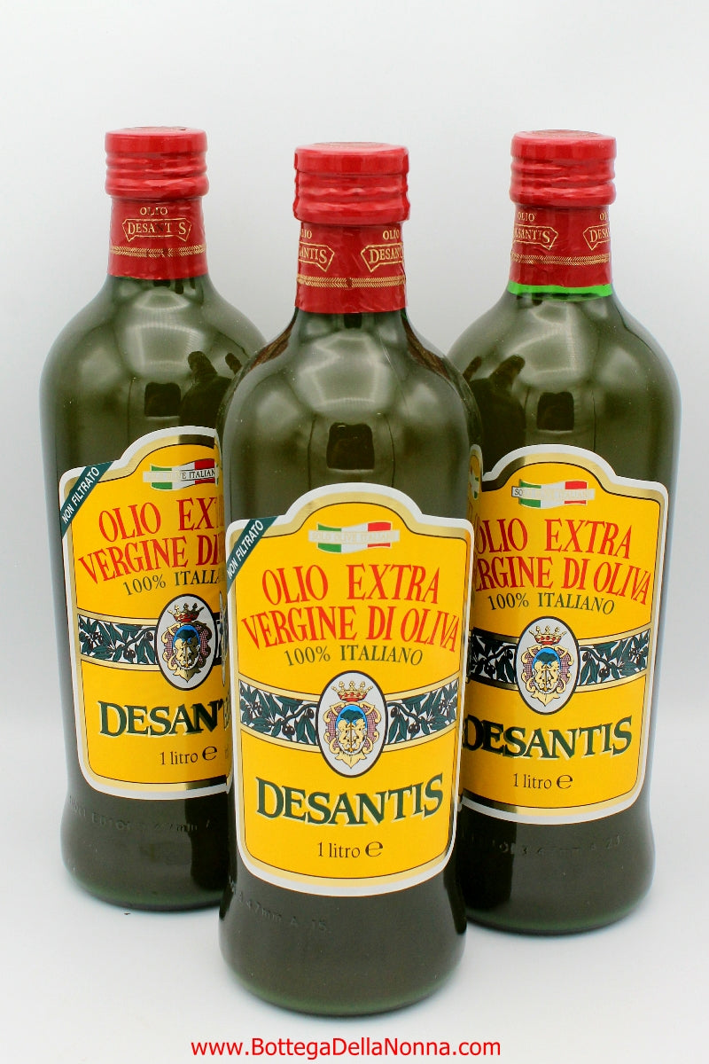 Extra Virgin Olive Oil from Puglia - 100% Italian Olives - Unfiltered - Famiglia Pack - Free Shipping