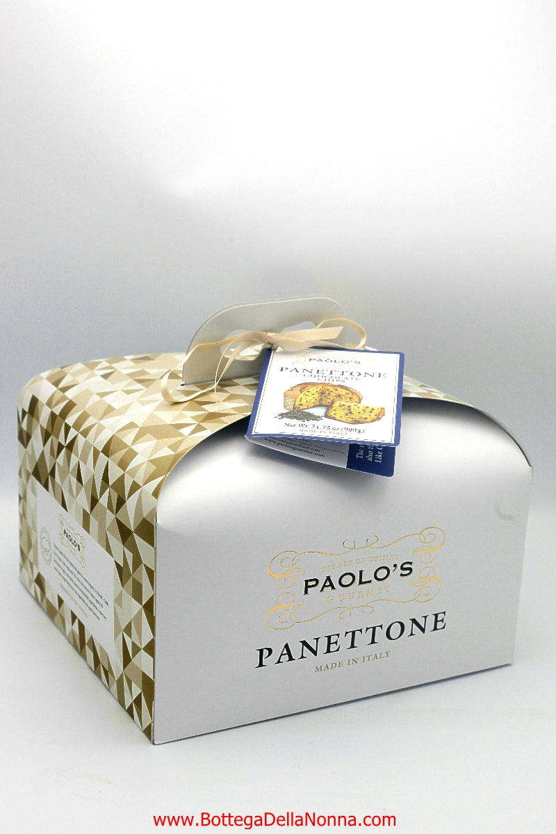 Panettone with Chocolate Chips - Paolo's