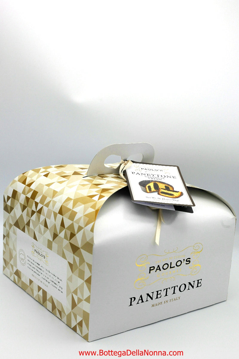 Panettone with Gianduia Cream - Paolo's