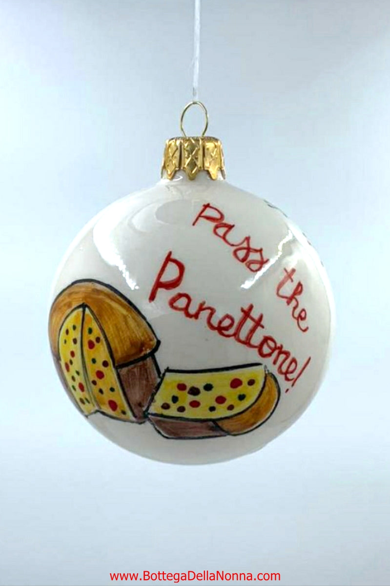 Pass the Panettone Christmas Ornament