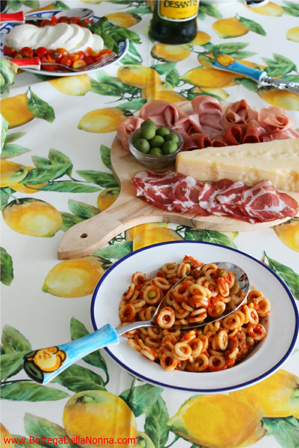 The Positano Pasta Serving Spoon