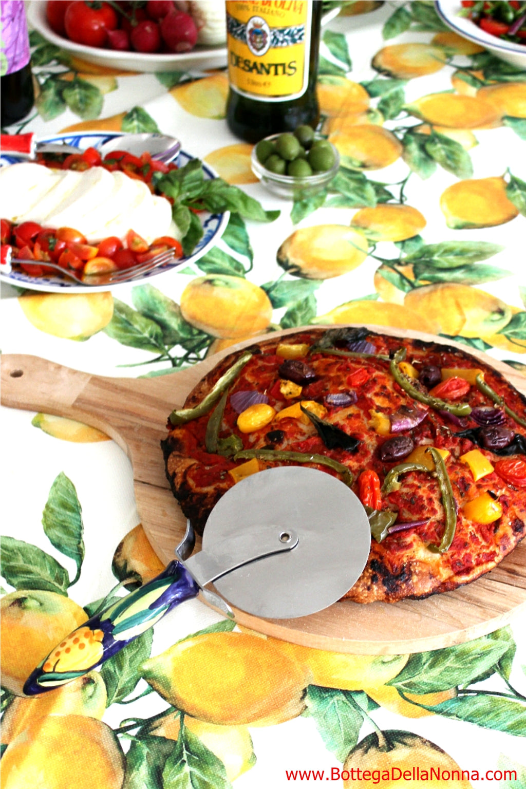 The Positano Pizza Cutter