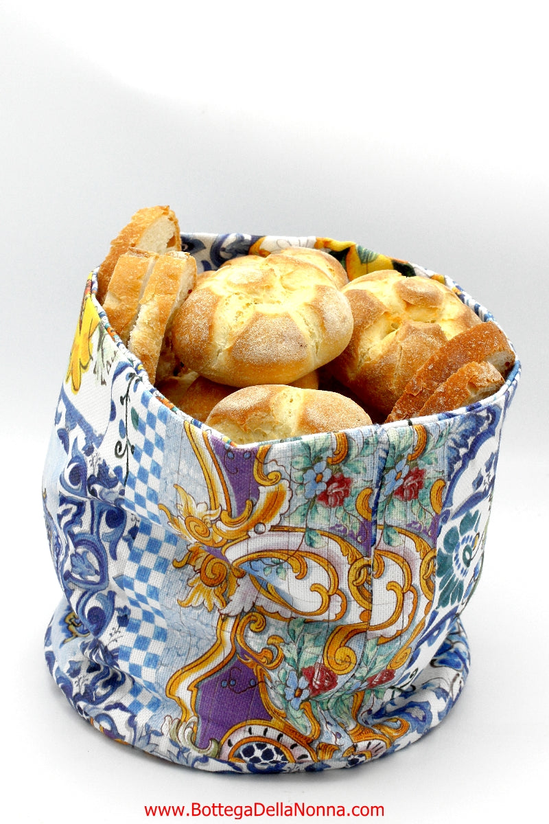 The Positano Fantasy Bread Basket