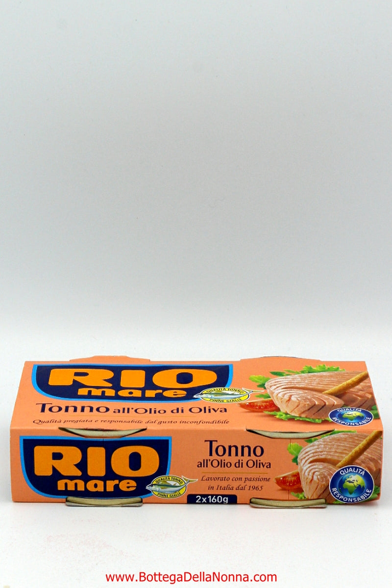 Rio Mare - Tuna in Olive Oil - 2 x 160Gr