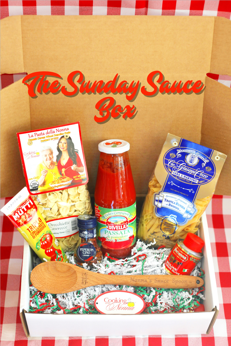 The Sunday Sauce Box - Free Shipping