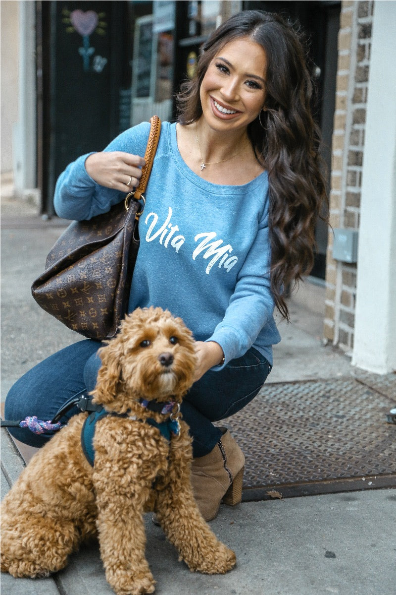 Vita Mia Fleece Sweatshirt