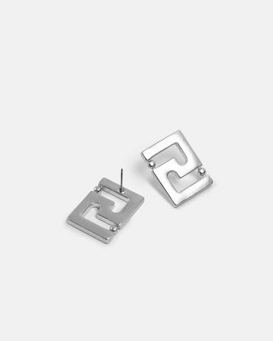 Kitte Icon Studs - Silver