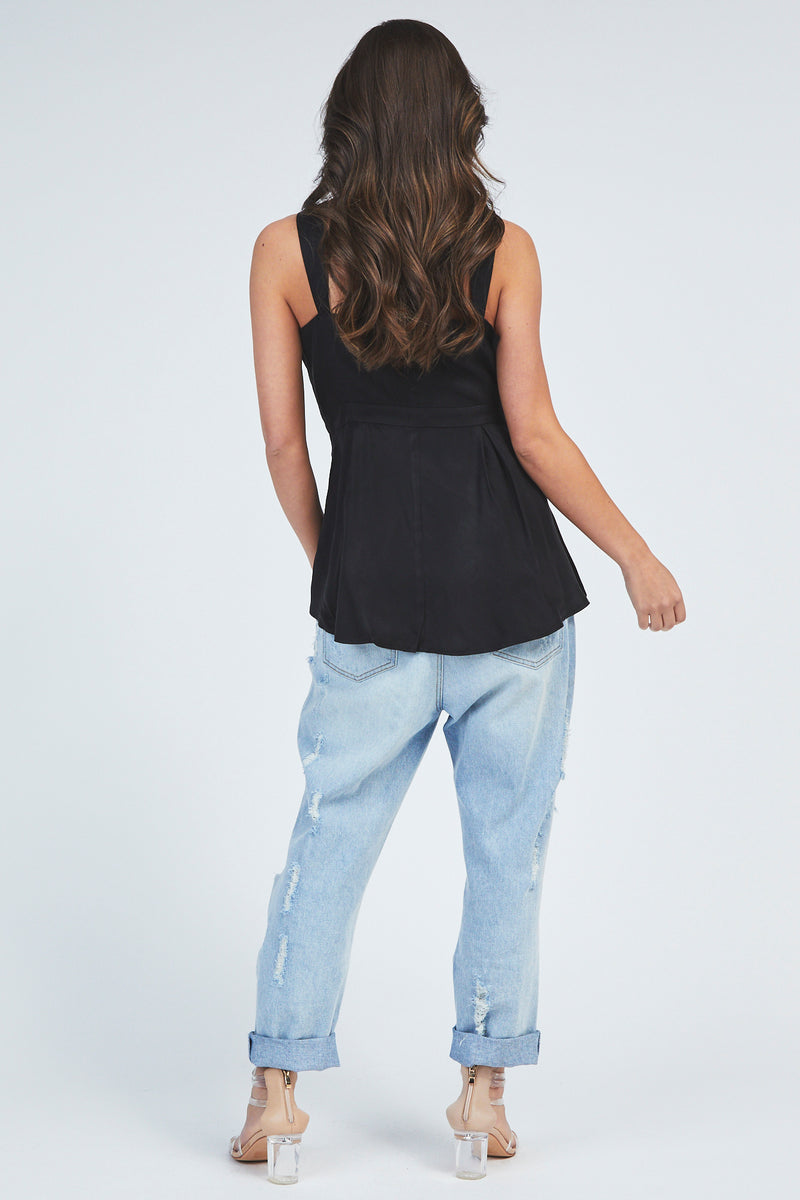 Penny Top - Black