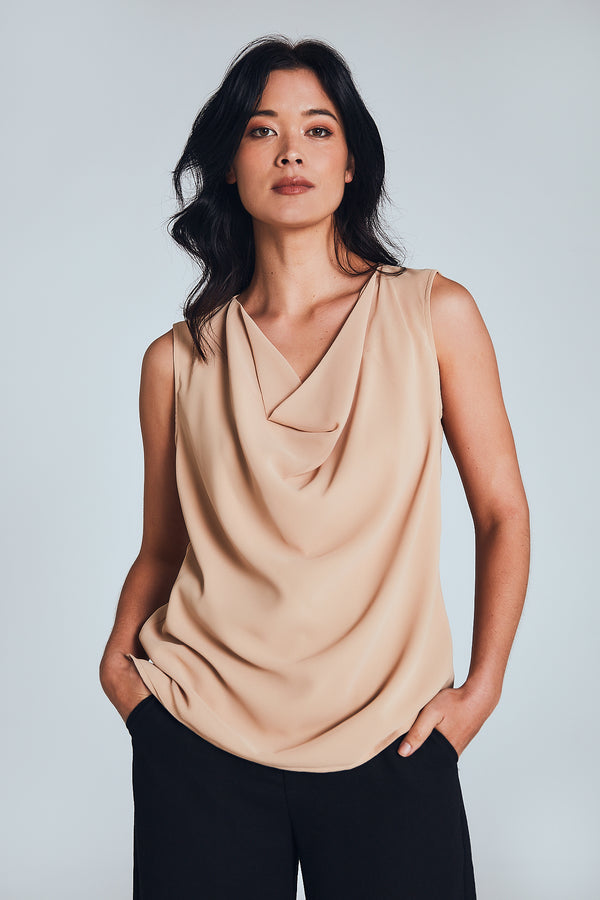 Billie Top - Beige