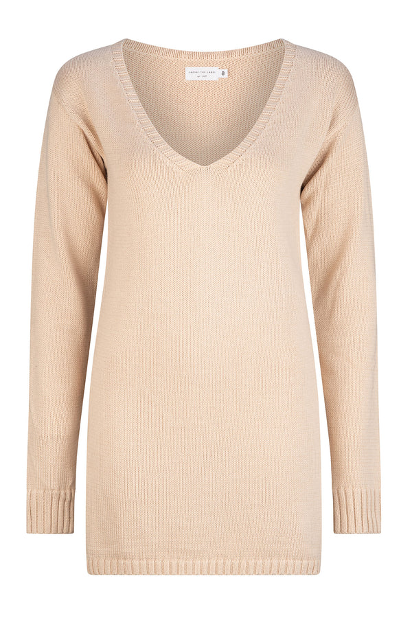Cleo Knit - Washed Sand