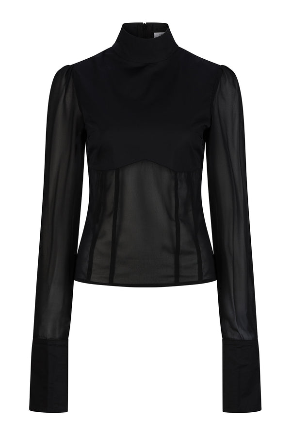 Grace Shirt - Black