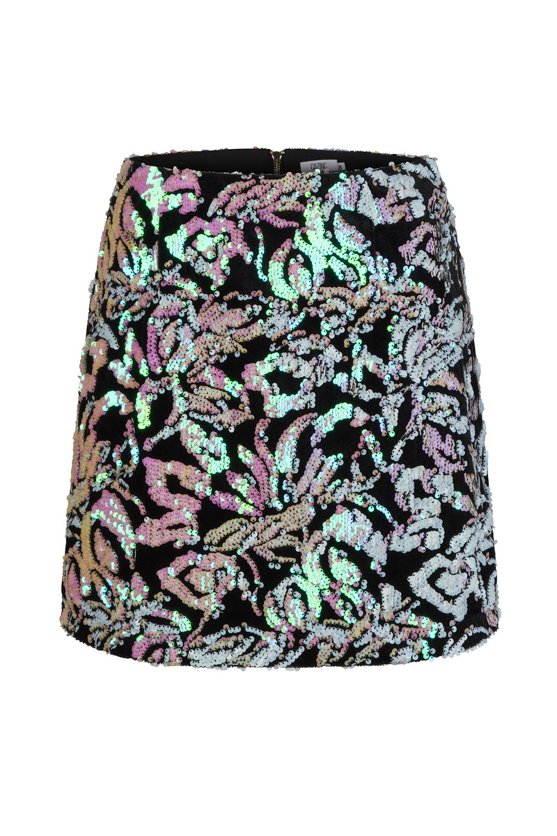 Sophia Skirt - Light Pink Sequin