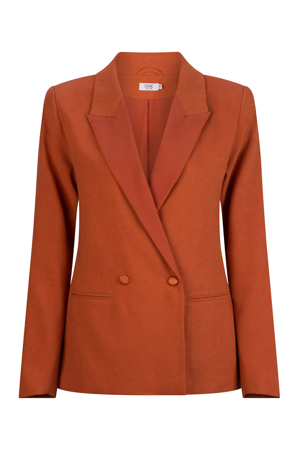 Amelia Blazer - Burnt Orange