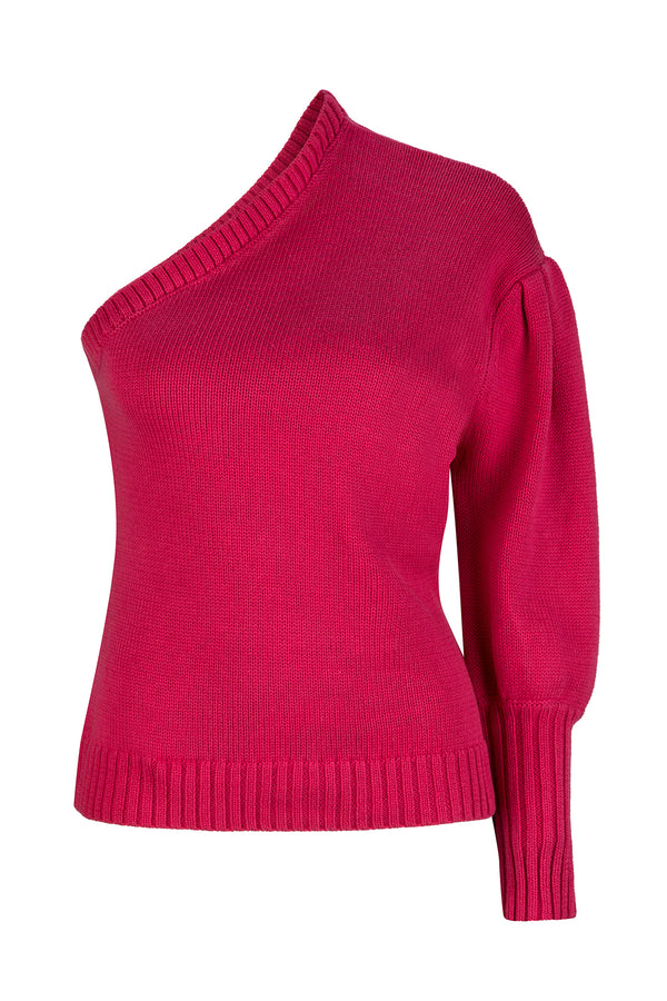 Eleanor Knit - Magenta