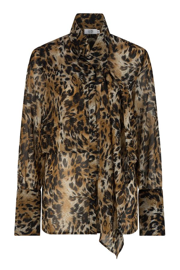 Myla Shirt - Animal Print
