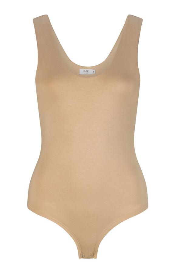 Riley Bodysuit - Washed Truffle