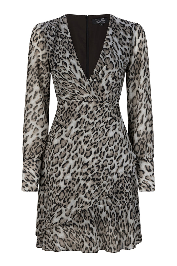Charlotte Grey Leopard Print Dress