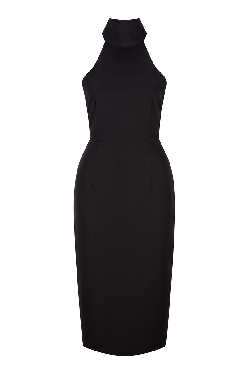 Camilla Dress - Midnight Black