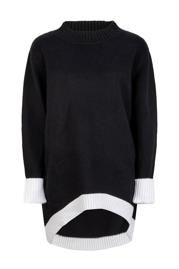 Unity Knit - Black and White