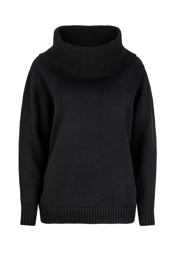 Udele Knit - Midnight Black