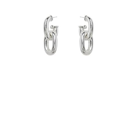 Connextion Earrings - Silver