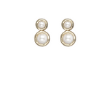 Kitte Pearl Affair Earrings - Gold