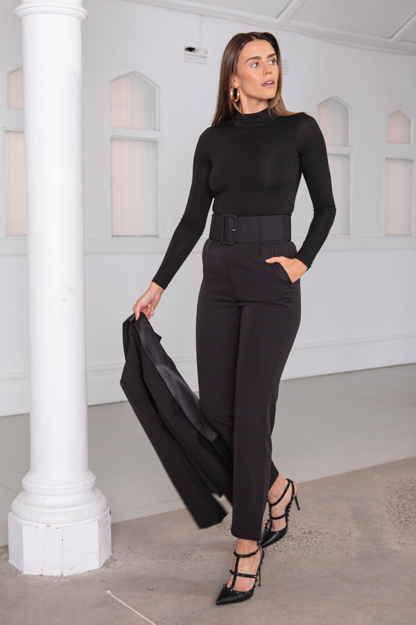 Evelyn Pant - Midnight Black