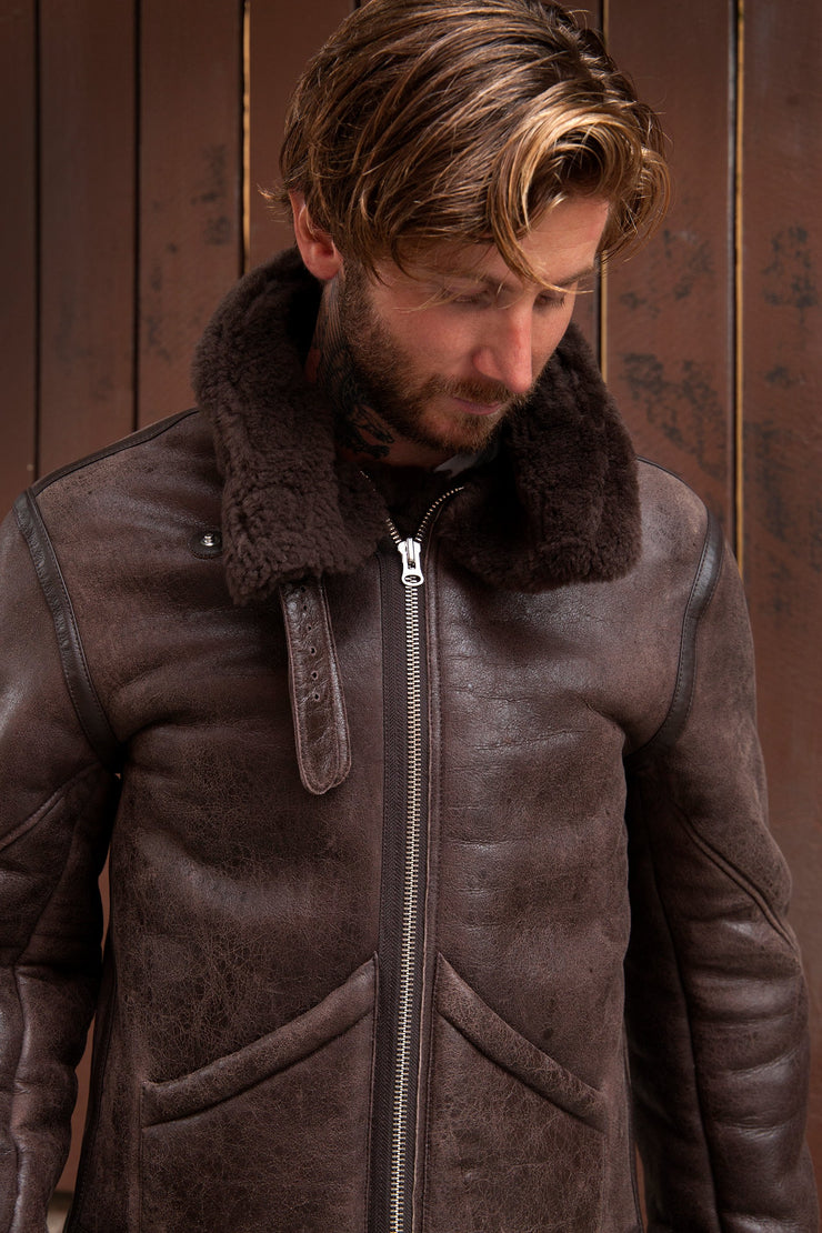 Burt Shearling Brown