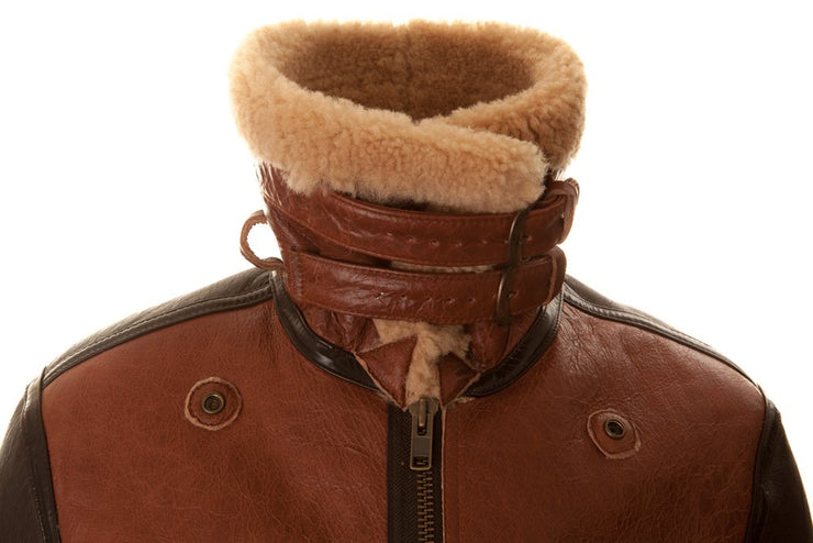 Burt Brown Shearling