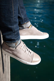 Anton Suede light grey