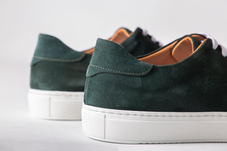 Henry Suede duck green