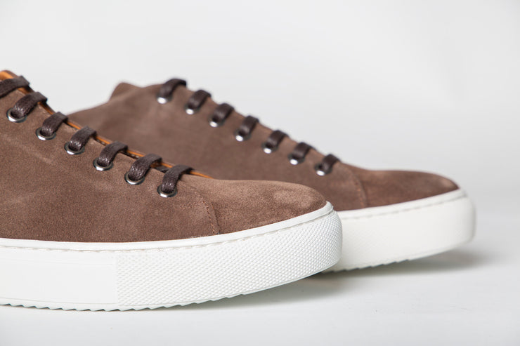 Herbert Suede iron brown