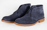 James Suede Navy