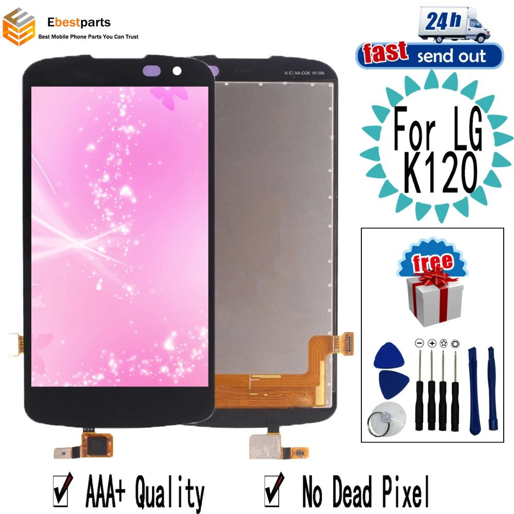 "4.5"" K4LTE K120 LCD For LG K4 LTE K120AR K120E K120 LCD Display Touch Screen Digitizer Assembly / For LG K4LTE K120"