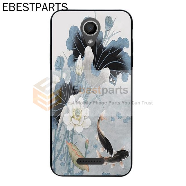 【EBP】 WIKO Harry Sunny 2 Pulp FAB View XL Lotus Flower Silicon Case 【Ready Stock】