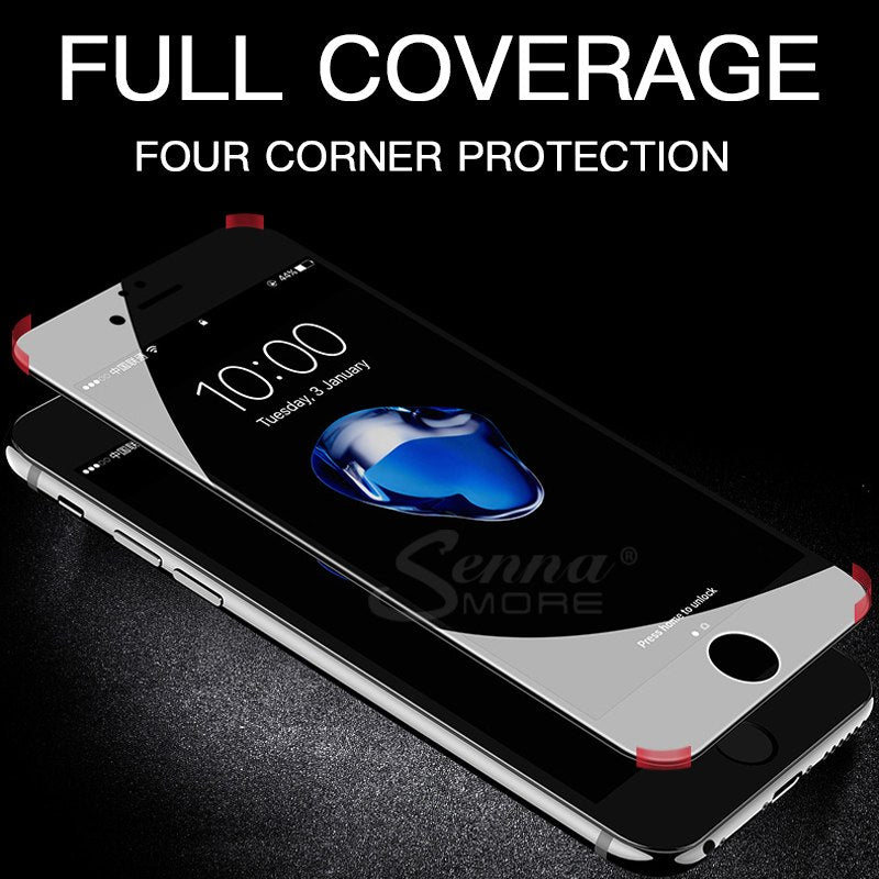 3D Soft Edge Tempered Glass For iPhone 6 6s 7 8 Plus X Full Cover Screen Protector For iPhone 8 7 6 6s Plus X Protective Glass