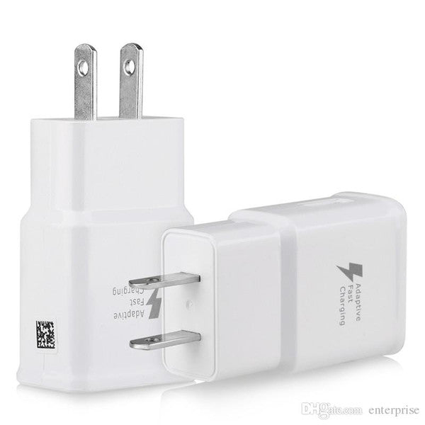 10pc/lot High Quality 5V 2A 9V 1.67A US EU Plug QC2.0 For Samsung Galaxy S6 Fast Quick Charge Travel Home Wall Charger