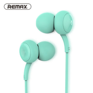 REMAX Music Clear Wired In-ear Earphones with Mic Super Bass Stereo Noise Isolating Earbuds Comfort Headsets for Phone