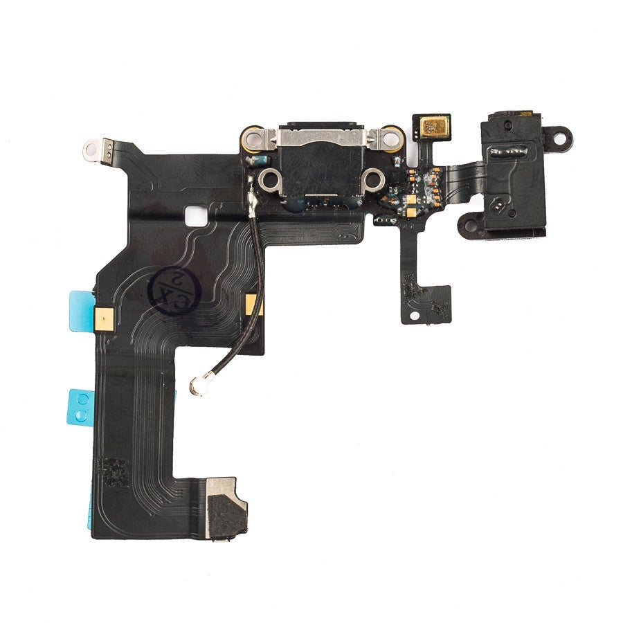 【EBESTPARTS】Dock Connector Charging Port and Headphone Jack Flex for iPhone 5