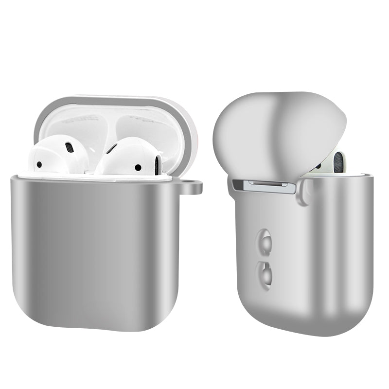 PodSkinz AirPods Case Protective Abrazine Cover and Skin Compatible with Apple Airpods 1 & AirPods 2