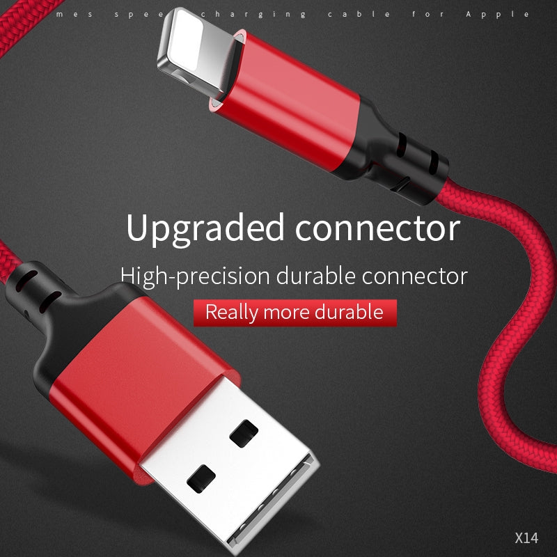HOCO Best USB Cable Charging for iPhone 8 7 6 5 plus USB Cable Fast Charger Data Cable For iPhone X XS iPad Phone Cables