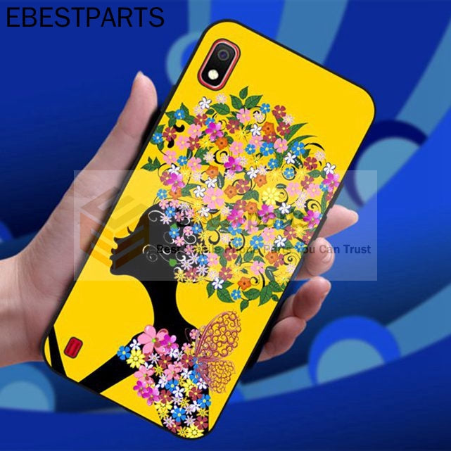 【EBP】【Factory Direct】 Samsung M30 A70 A40 A60 A2 Core A20e A8S Flower Butterfly Silicon Case