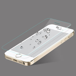 9H tempered glass For iphone 6 6s X 7 8 plus screen protector protective guard film case cover with carton package+clean kits For iPhone 4s 5 5s se