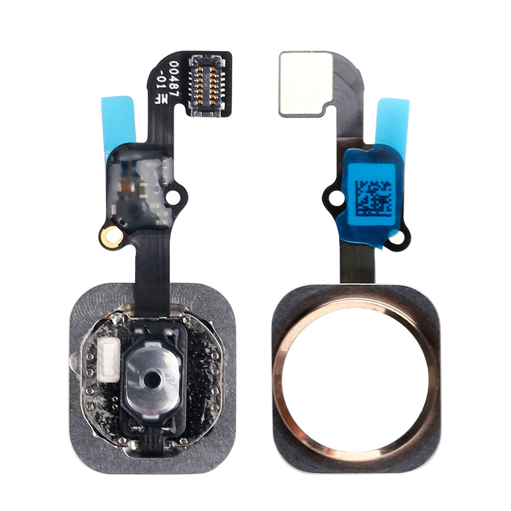 For iPhone 6S / 6S Plus Home Button Flex Cable (Fingerprint scanner is aftermarket - Biometrics will not work) - Ebestparts Official Store
