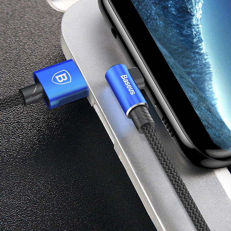 Baseus Reversible Micro USB Cable For Samsung S6 S7 Xiaomi Redmi 4X Note 4 Mobile Phone Data Cable USB Charger Charging Cable
