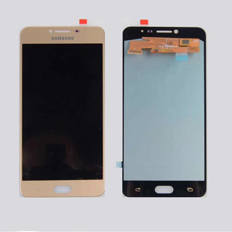 "C7 AMOLED LCD For Samsung Galaxy C7 C7000 LCD Display Touch Screen Digitizer Assembly for C7000 lcd 5.5"" Glass Replacement parts - Ebestparts Official Store"