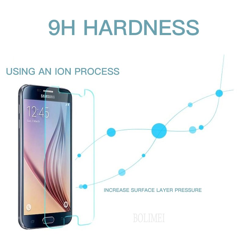 2.5D Tempered Glass For Samsung Galaxy S9 S8 Plus S7 S6 Note 8 5 Ultra Clear Glass For Samsung Note 8 5 Ordinary Durable