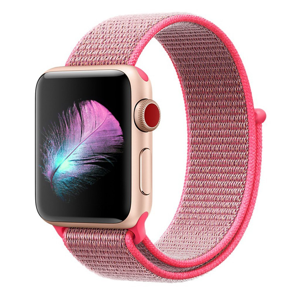 For Apple Watch Band 38MM 42MM Nylon Soft Breathable Nylon I Watch Replacement Band Sport Loop for Apple Watch Series 3/2/1